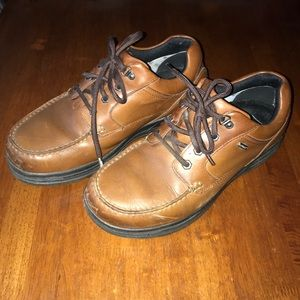 👞 Men's Abeo Size 9.5 Rayburn Brown Leather Shoes